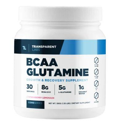 1. BCAA Glutamine by Transparent Labs