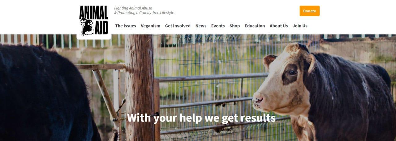 Animal Aid Charity Website
