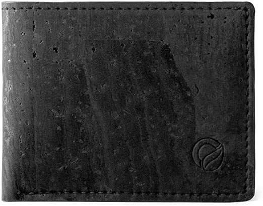 Corkor Cork Wallet for Men. Vegan Cruelty Free Non Leather