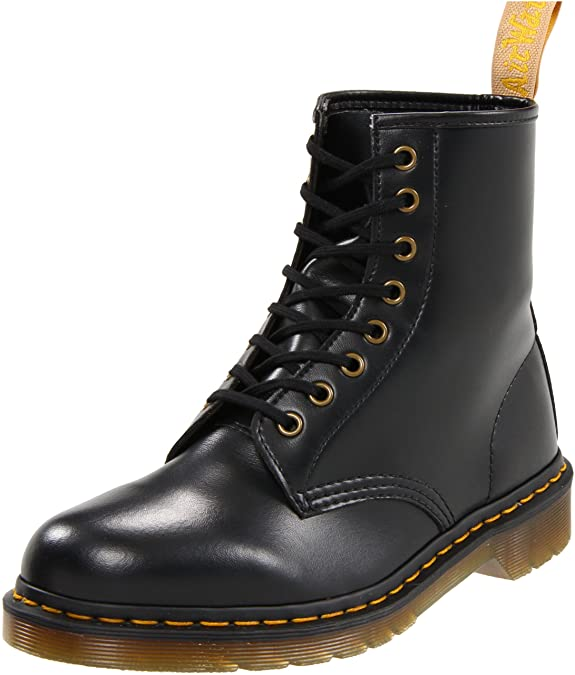 Dr. Martens Vegan 1460 Smooth Black Combat Boot