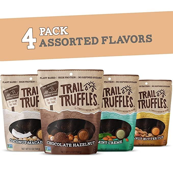 Trail Truffles – Vegan, Dark Chocolate Superfood Protein Balls