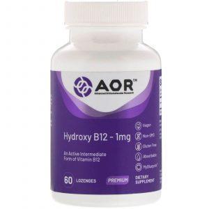Advanced Orthomolecular Research AOR, Hydroxy B12