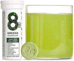 8Greens Effervescent Super Greens Dietary Supplement